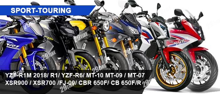 ยาง R1, R6. MT 07, MT 09, MT10, XSR, CB650, CBR