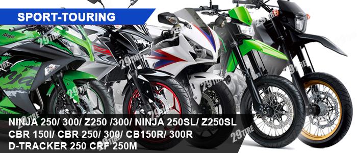 ยาง Ninja, Z250 300, CBR 150, 300, Dtracker, CRF